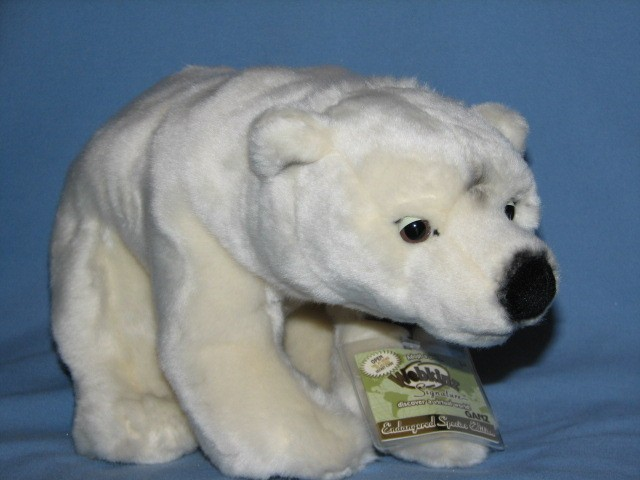 Webkinz endangered signature polar bear nwt super fast shiping with a