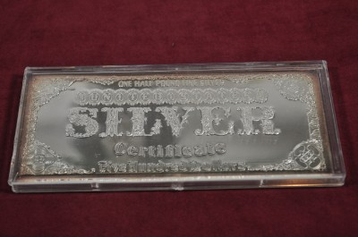 Half Pound Fine Silver Morgan Dollar 500 Silver Art Bar