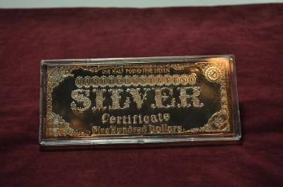 Half Pound Fine Silver Morgan Dollar 500 Silver Art Bar