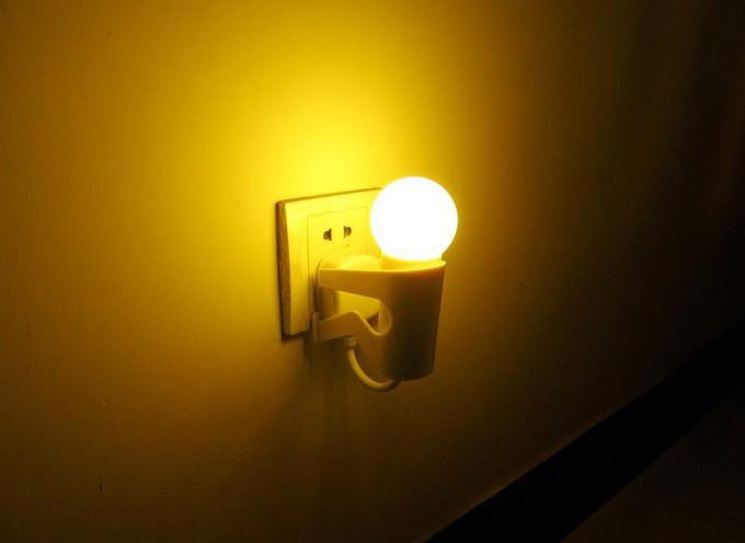 Baby Nursery Sensor Led Lamp Night Light Yellow Ebay