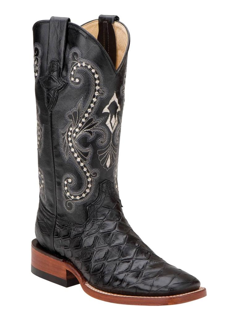 ferrini western cowboy boots mens anteater square toe