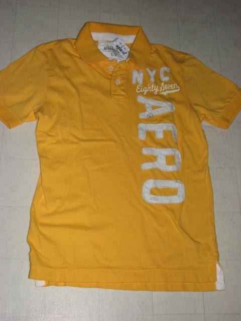 Aeropostale-T-Shirt-for-Men-Red-White-Orange-Yelllow-Sz-S-L-XL-NWT-36