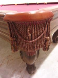 Desi Arnaz Original Custom Pool Table 1950s I Love Lucy Lucille Ball