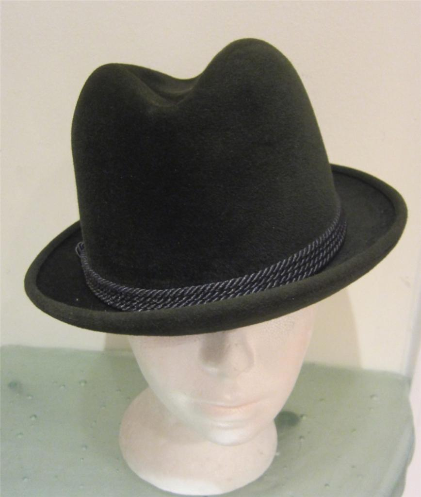 This cowboy style hat is Small/Medium it fits 22 1/2