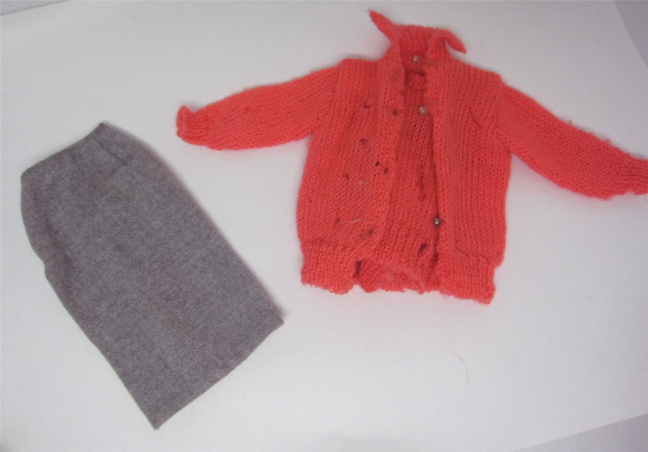 Barbie Doll Fashion 976 Sweater Girl 1959 Flannel Skirt ...