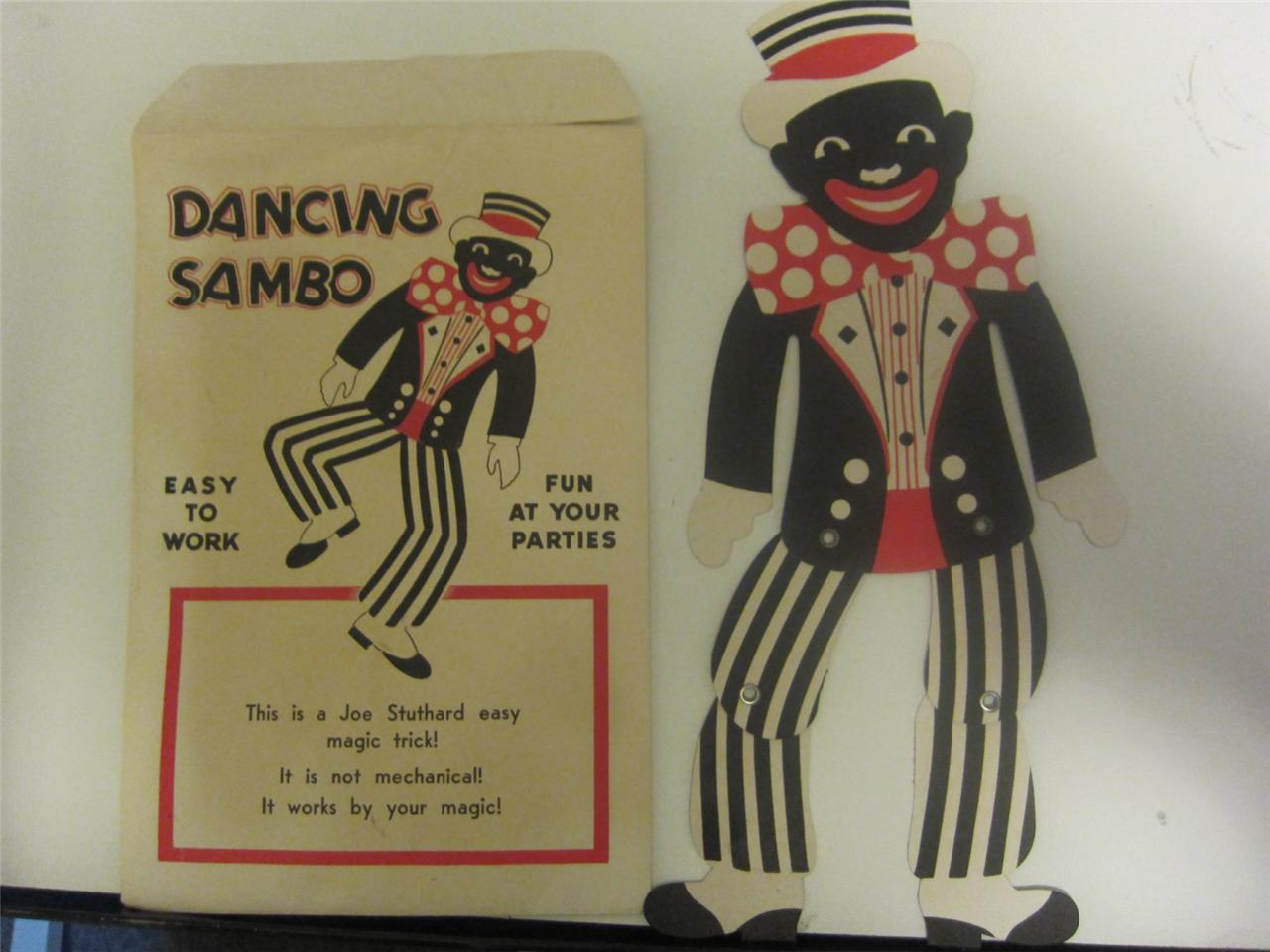 sambo doll invisible man essay