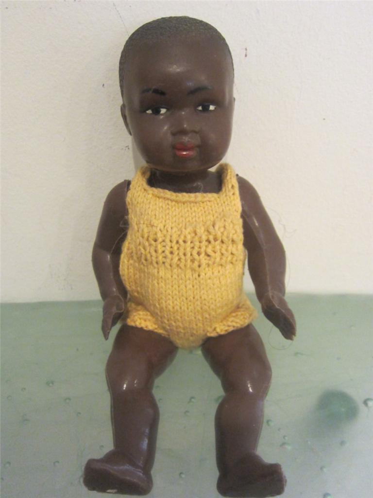 Vintage Black Baby Doll 3