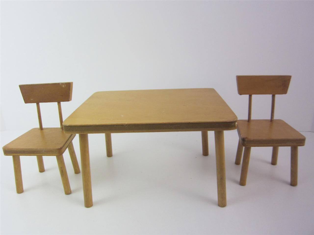 Doll furniture pc set s kitchen table chairs ginny