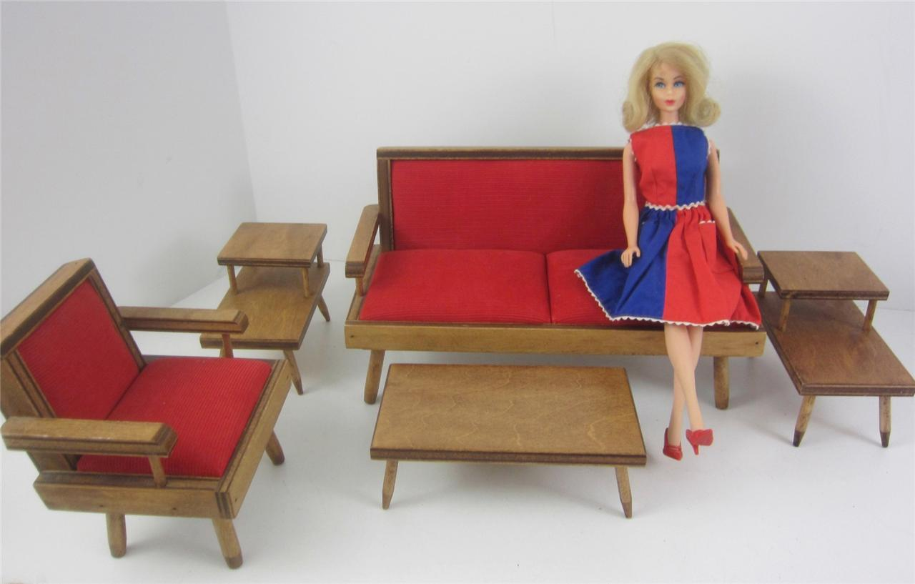 hall 39 s modern living room doll furniture 4p set 210 fits 8