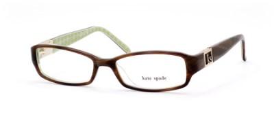 Kate Spade Florence Eyeglass Frames : Kate Spade Florence Women Eyeglasses 0JDJ Horn Green Noel ...