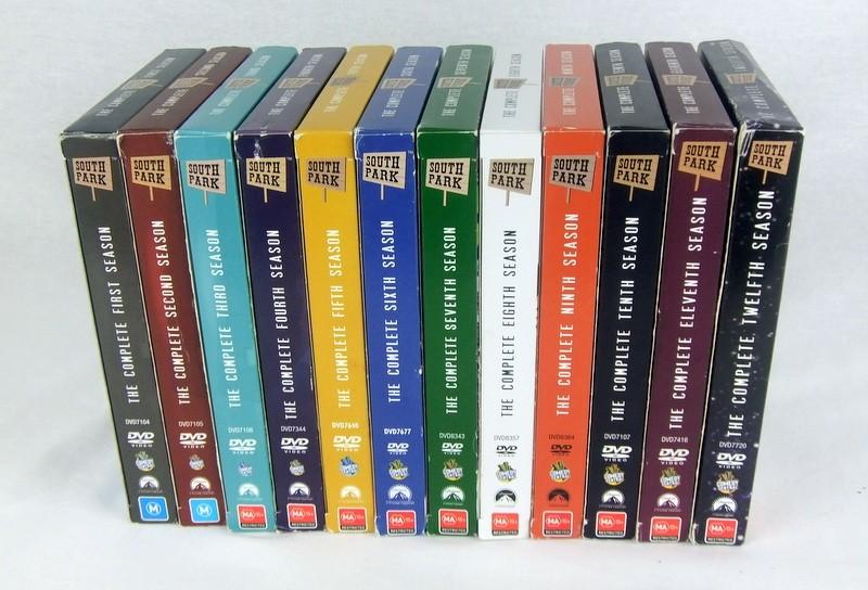 south park the complete 1 2 3 4 5 6 7 8 9 10 11 12 dvd box set 36 disc r4 ec ebay. Black Bedroom Furniture Sets. Home Design Ideas
