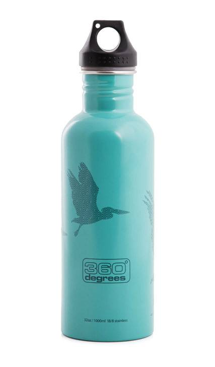 1 litre stainless steel water drinking drink bottle pelican bpa free sport ebay. Black Bedroom Furniture Sets. Home Design Ideas