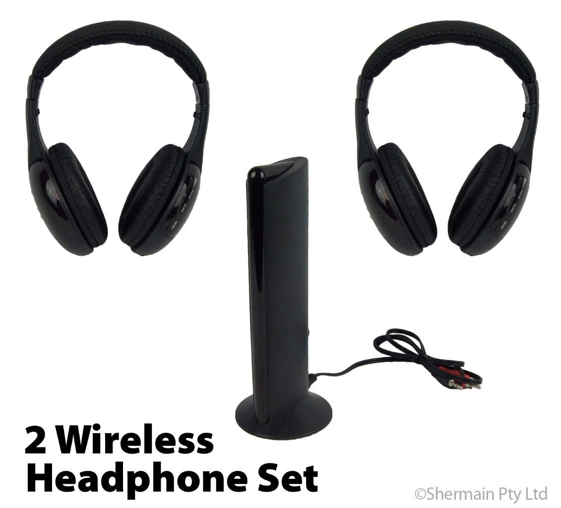 how to connect wireless headphones to tv