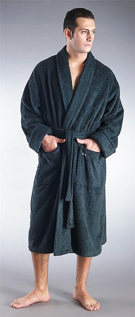 Men S Robe Not Terry Cloth