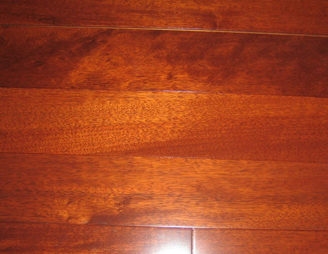 how to clean exotic wood floors