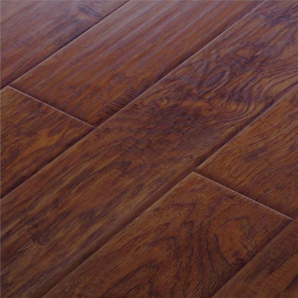 12mm Distressed Embossed Texture Laminate Floor Flooring