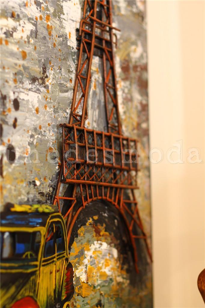 Eiffel Tower Wall Art eiffel tower metal wall art french paris rustic vintage industrial