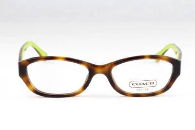New Coach Cecilia HC 6002 Eyeglasses Frames Tortoise 5052 ...