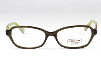 Coach Vanessa Eyeglass Frames : New Coach Vanessa HC 6017 Eyeglasses Frames Dark Olive ...