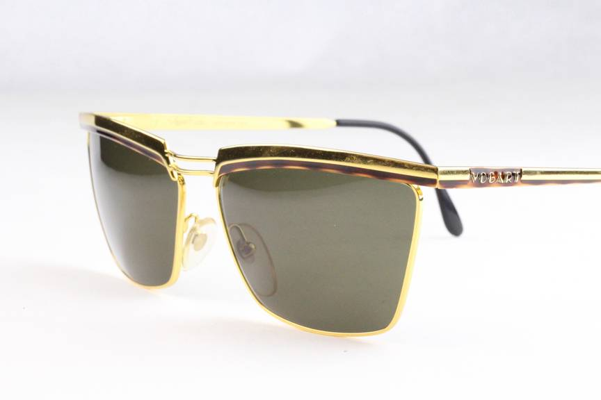 New Vintage Vogart Police 3054 Sunglasses Frames Gold ...