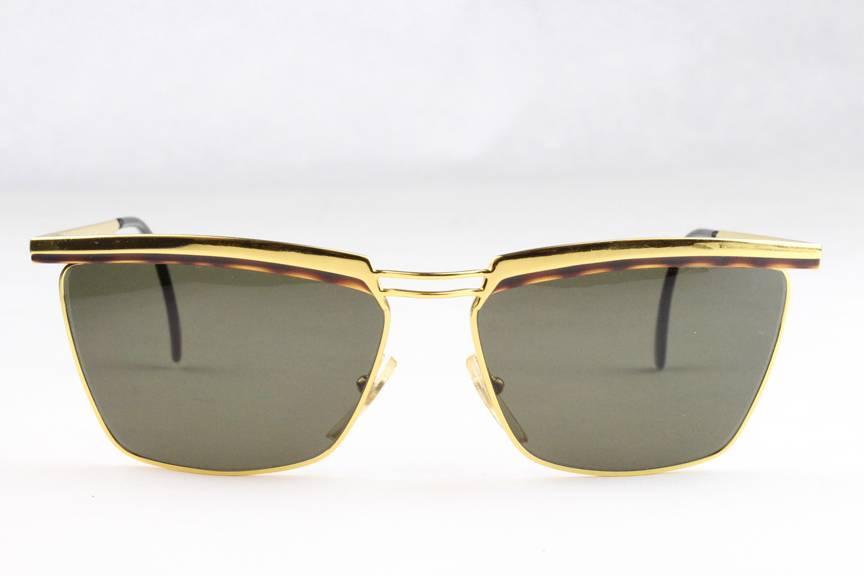 Gold Frame Police Sunglasses : New Vintage Vogart Police 3054 Sunglasses Frames Gold ...