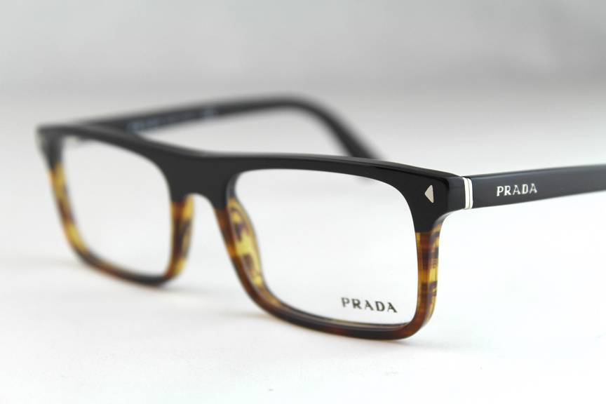 Eyeglasses Frame Prada : New Prada VPR02R Eyeglasses Frames Black Tortoise TFJ-1O1 ...