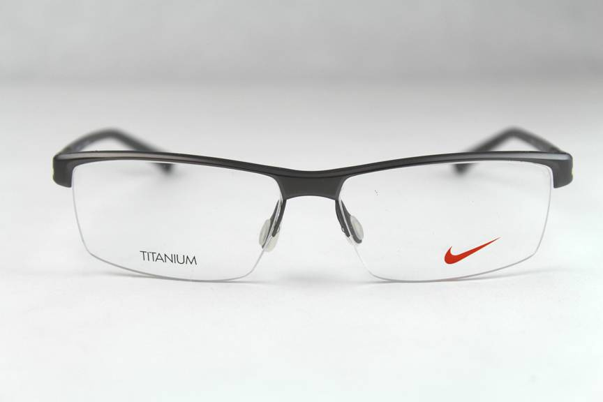 New Nike Titanium 6050 Eyeglasses Frames Charcoal Grey 045 ...