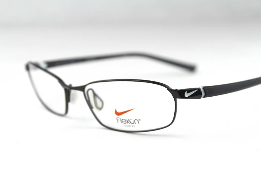 Nike Flexon Eyeglass Frame : New Nike with Flexon Temples 4211 Eyeglasses Frames Black ...