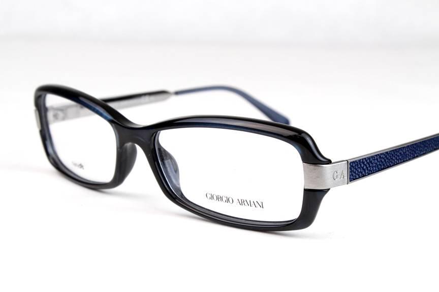 Armani Glasses Frames Blue : New Giorgio Armani GA 931 Eyeglasses Frames Blue Silver ...