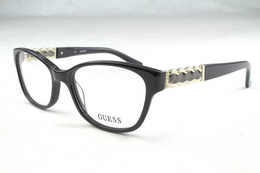 New Guess Eyeglass Frames : New Guess GU 2382 Eyeglasses Frames Black BLK Authentic ...