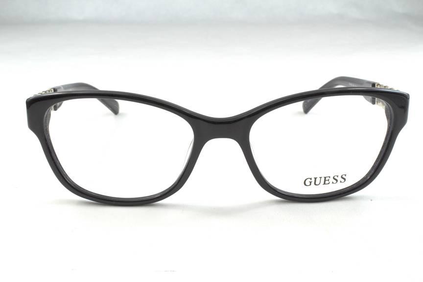 New Guess GU 2382 Eyeglasses Frames Black BLK Authentic ...