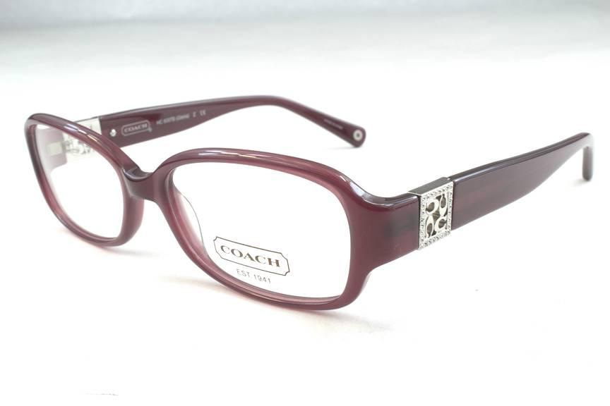 New Coach Eyeglass Frames : New Coach HC 6007B Gloria Eyeglasses Frames Berry 5041 ...