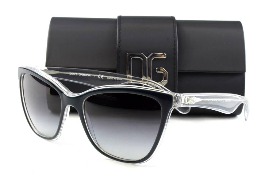 Dolce And Gabbana Clear Frame Glasses : New Dolce & Gabbana DG 4193 Sunglasses Frames Blue Green ...
