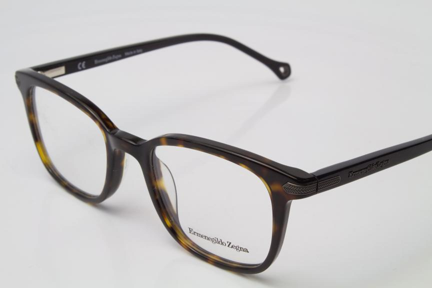 NEW Ermenegildo Zegna VZ3671N Eyeglasses Frames Dark ...