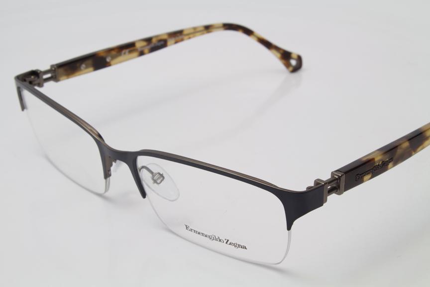 NEW Ermenegildo Zegna VZ3359N Eyeglasses Frames Satin Grey ...