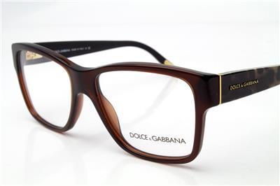 NEW Dolce Gabbana DG 3126 Eyeglasses Frames Brown Leopard ...