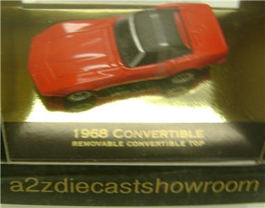 1968 CHEVY CORVETTE CONVERTIBLE DIECAST MICRO MACHINES