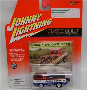 DODGE A 100 CLASSIC GOLD JOHNNY LIGHTNING DIECAST 164