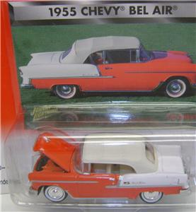 1955 CHEVY BEL AIR RED JOHNNY LIGHTNING DIECAST 164