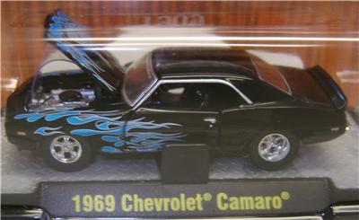 1969 69 CHEVY CAMARO FLAMES M2 MACHINES DIECAST 1OF480