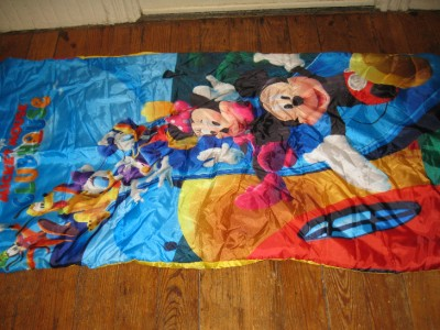 Disney Mickey Mouse Clubhouse Childrens Sleeping Bag Nap