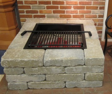 Details about pavestone square fire pit kit