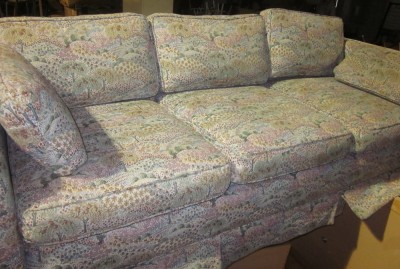 fabric print sofa ebay