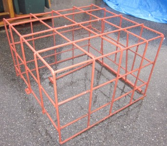 Air Conditioner Security Cage