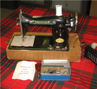 ambassador deluxe sewing machine
