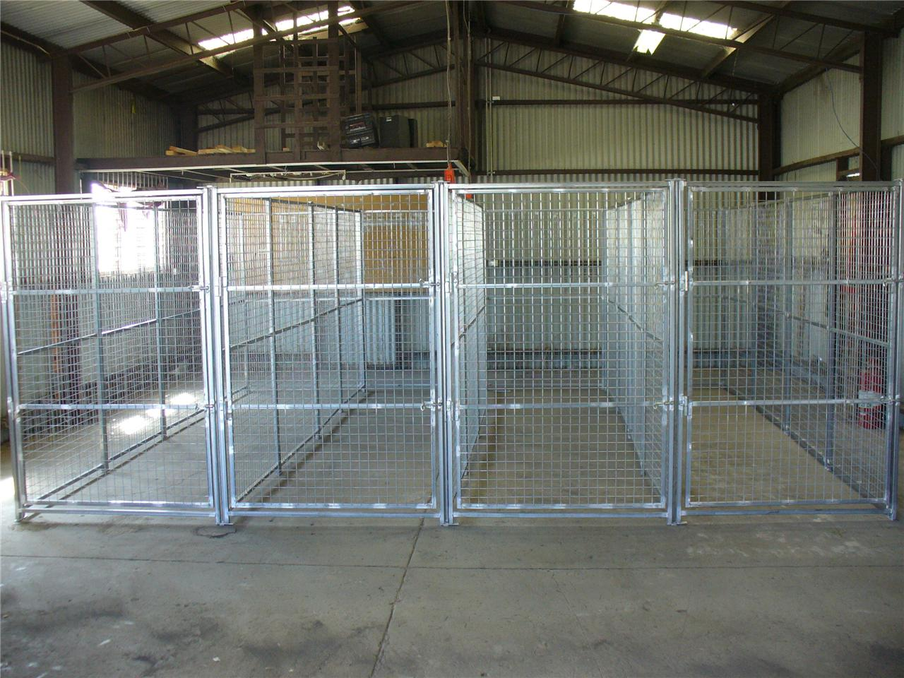50l x 50w x 185h 4 runs portable dog run pen enclosure for Dog run cage enclosure