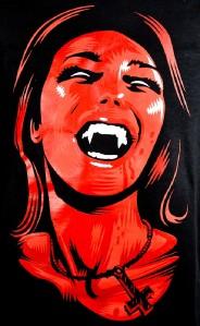 Devil Girl T Shirt Succubus Black Death Metal Hell Fire