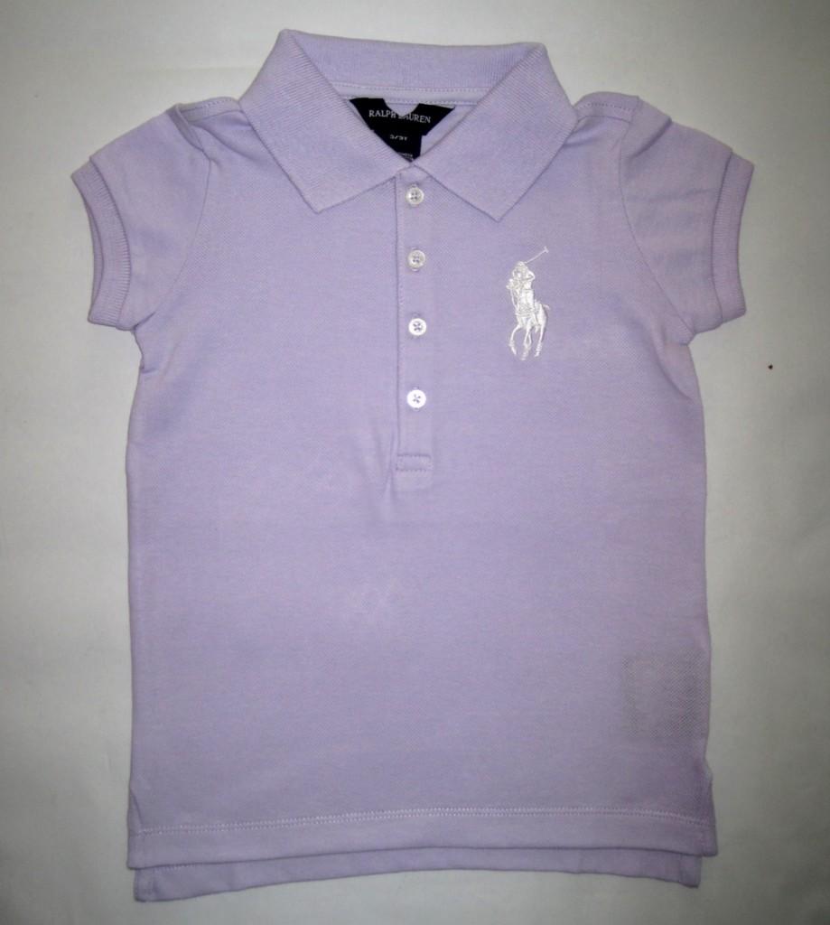 sale new girls ralph lauren designer polo top shirt ebay. Black Bedroom Furniture Sets. Home Design Ideas