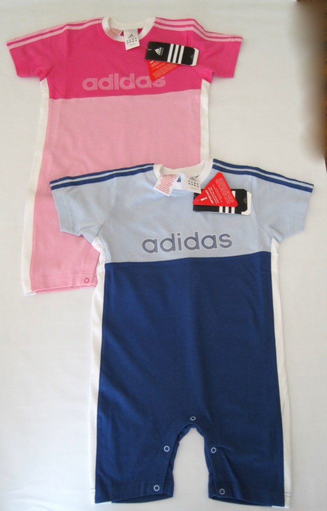 SALE New Boys Girls designer Adidas romper suit outfit