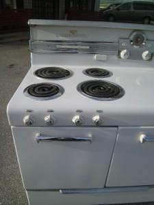 1950 frigidaire general electric stove ge porcelain rm 65 - Frigidaire americain general electric ...